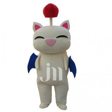 Moogle Doll Cartoon Walking Doll Clothing Sets Moogle Final Fantasy Mascot Mascot Costume
