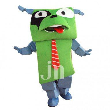 Cartoon Cute Dog Doll Box Hedging Walking Doll Cartoon Clothing Cute Dog Box Mascot Costume