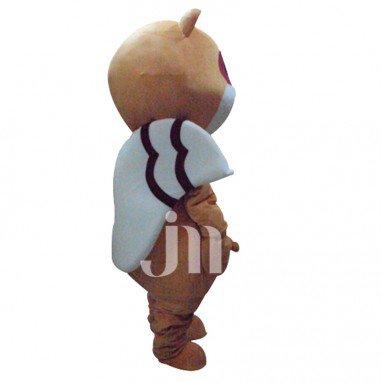 Cute Cartoon Raccoon Walking Doll Doll Cartoon Clothing Sets Cute Raccoon Mascot Costume