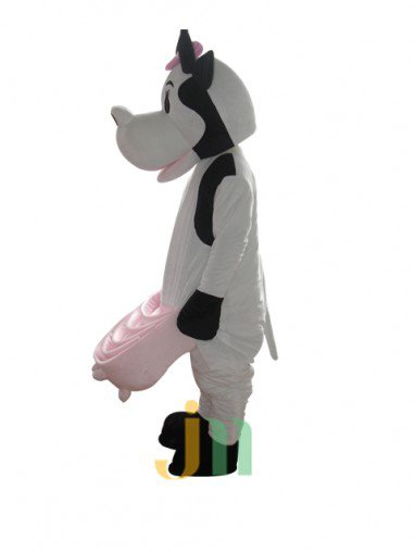 New Zealand Cow Cartoon Doll Cartoon Walking Doll Clothing Doll Cow Suit Mascot Costume