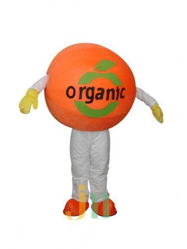 Orange Cartoon Walking Doll Doll Cartoon Clothing Doll Hedging Oranges Mascot Costume