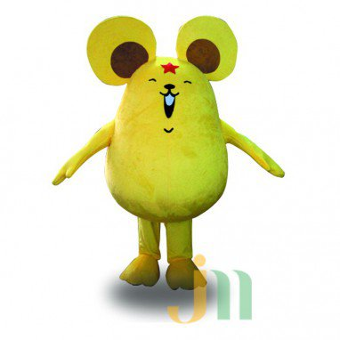 Star Doll Cartoon Mouse Cartoon Walking Doll Clothing Hedging Star Mouse Mascot Costume
