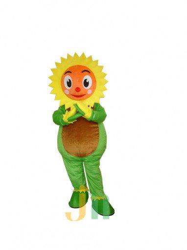 Sunflower Cartoon Doll Cartoon Walking Doll Clothing Doll Hedging Sunflowers Mascot Costume