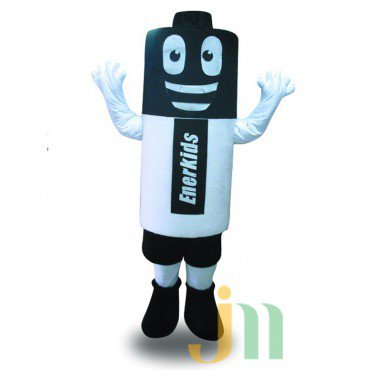Battery Cartoon Doll Cartoon Walking Doll Clothing Hedging Battery Mascot Costume