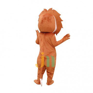 Cartoon Doll Cartoon Lion Lion Doll Clothing Walking Doll Sets Mascot Costume