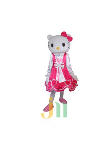 Cartoon Doll Clothing Boutique Kt Mascot Walking Hedging Activities Mascot Costume