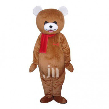 Curious Bear Cartoon Doll Cartoon Walking Doll Clothing Hedging Curious Bear Mascot Costume