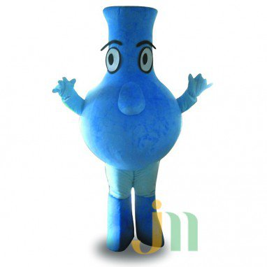 Doll Cartoon Clothing Cartoon Walking Doll Flask Hedging Flask Mascot Costume