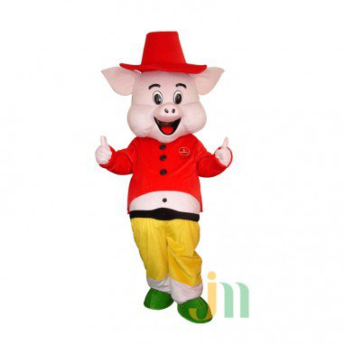 Happy Cartoon Walking Doll Clothing Doll Cartoon Pig Happy Pig Doll Sets Mascot Costume