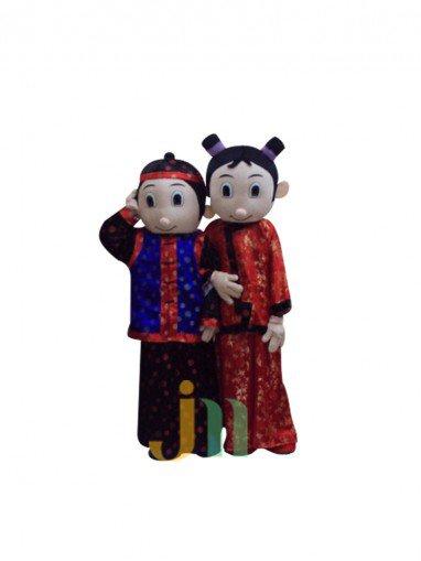 Jin Xiaoyu Lovely Cartoon Doll Cartoon Walking Doll Clothing Hedging Small Jin Xiaoyu Mascot Costume