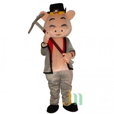 Pig Cartoon Doll Cartoon Walking Doll Clothing Sets Pig Dolls Mascot Costume