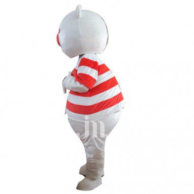Red-eye Doll Cartoon Clothing Cartoon Bear Walking Doll Hedging Redeye Bears Mascot Costume