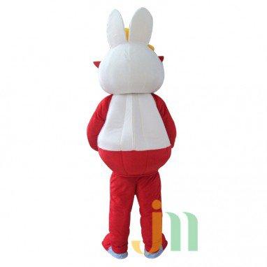Red-eye Rabbit Cartoon Walking Doll Clothing Doll Cartoon Rabbit Hedging Redeye Mascot Costume