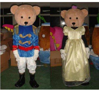 Cute Cartoon Doll Clothing Cartoon Clothing Performance Clothing Etiquette Bear Mascot Mascot Costume
