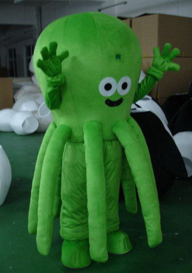 Special Large Models Cartoon Clothing Cartoon Doll Clothing Cartoon Clothing Octopus Mascot Costume