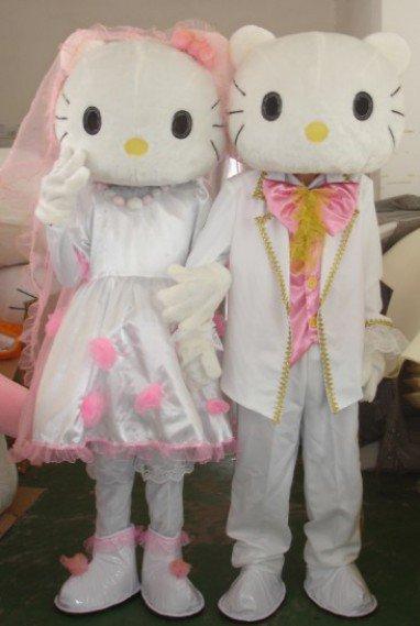 Cartoon Clothing Cartoon Doll Clothing Doll Clothing Performance Clothing Couple Wedding Kt Risk Mascot Costume