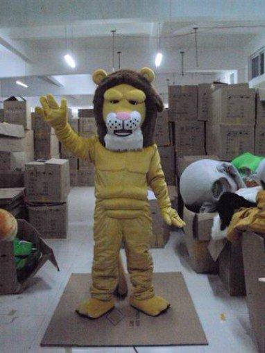 Set Cute Cartoon Dolls Cartoon Clothing Cartoon Show Clothing Doll Clothing Grade Lions Mascot Costume