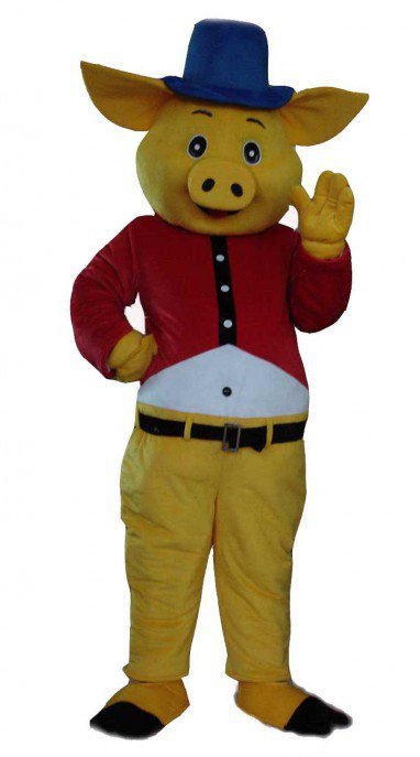 Cartoon Clothing Cartoon Toys Clothing Plush Doll Clothing Cartoon Pig Baofu Mascot Costume
