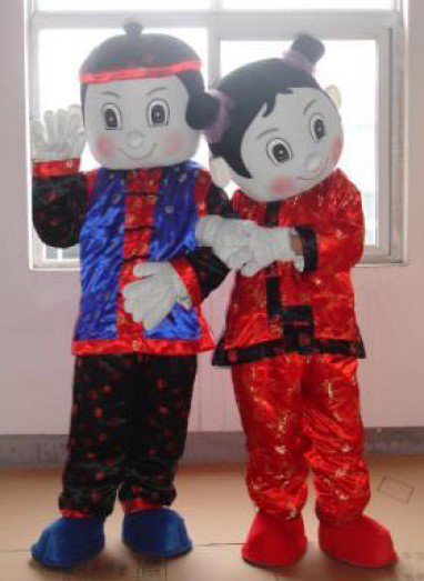 Couples Cartoon Clothing Cartoon Characters Clothing Cartoon Clothing Performance Clothing Jintongyunv Mascot Costume