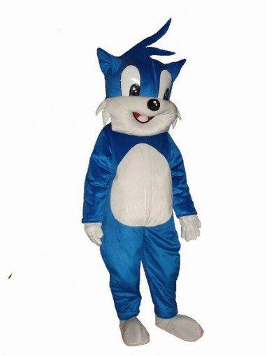 Hohhot Plush Doll Cartoon Costumes Cartoon Doll Clothing Cartoon Show Clothing Blue Cat Mascot Costume