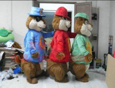 Hong Kong High-end Cartoon Costumes Cartoon Clothing Cartoon Doll Clothing Squirrel Mascot Costume