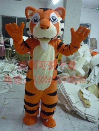 Order Special Cartoon Costumes Cartoon Animal Model Clothing Doll Clothing Performance Clothing Tiger Celebration Mascot Costume