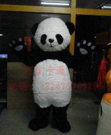 Cartoon Costumes Cartoon Doll Clothing Doll Clothing Cartoon Panda Hairy Mascot Costume