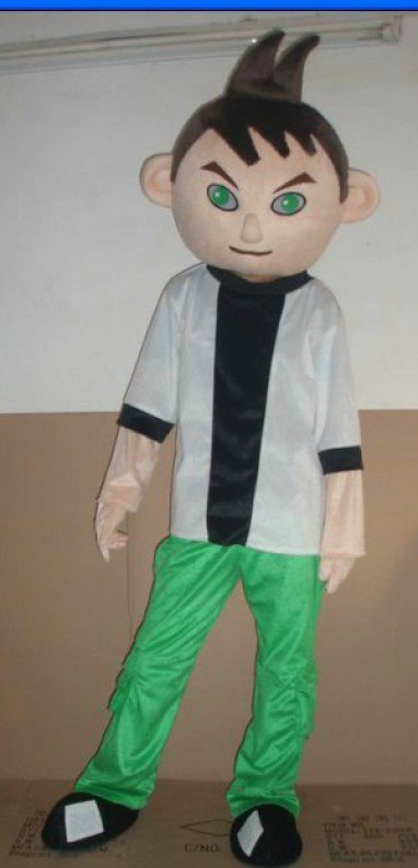 Television Cartoon Costumes Character Costume Characters Costume Cartoon Costumes BEN-10 Mascot Costume