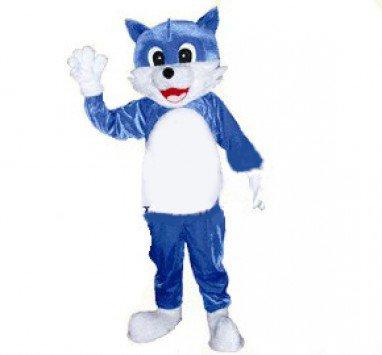 Taiyuan Cartoon Clothing Cartoon Doll Clothing Propaganda Cartoon Blue Cat Mascot Costume