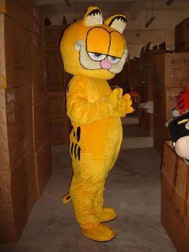 Cartoon Doll Clothing Performance Clothing Stage Costumes Cartoon Garfield Mascot Costume