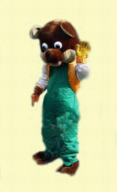 Shenyang Cartoon Doll Clothing Doll Clothing Cartoon Cartoon Mascot Bear Dasha Mascot Costume