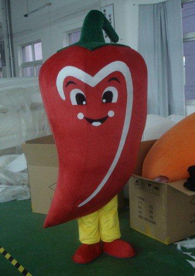 Cartoon Clothing Cartoon Show Clothing Clothing Clothing Walking Cartoon Doll Clothing Pepper Mascot Costume