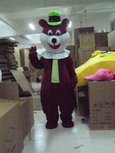 Cartoon Costumes Walking Cartoon Doll Clothing Cartoon Show Clothing Mascot Costume Brown Rat