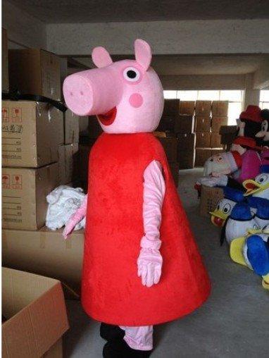 High-end Clothing Cartoon Doll Clothing Cartoon Clothing Cartoon Animation Character Dolls Pink Pig Mascot Costume