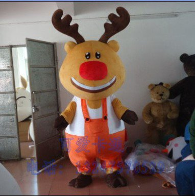 Large Doll Clothing Doll Clothing Cartoon Mascot Costume Deer Jiang Force
