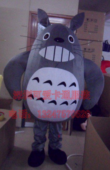 Animation Cartoon Clothing Cartoon Show Clothing Apparel Television Character Totoro Mascot Costume