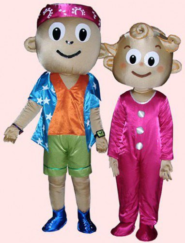 Cartoon Doll Clothing Cartoon Characters Clothing Costume Characters Costume Couple Mascot Costume