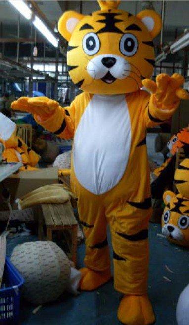 Manufacturers Zoo Cartoon Clothing Cartoon Doll Doll Clothing Doll Clothing Tiger Mascot Costume