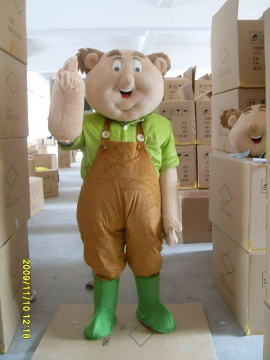 Character Costume Cartoon Doll Clothing Cartoon Clothing Cartoon Clothing Little Fat Mascot Costume