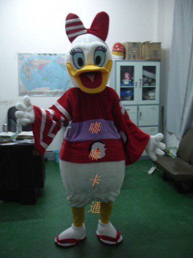 Cartoon Costumes Walking Cartoon Doll Clothing Donald Duck Cartoon Costumes Japanese Package Mascot Costume