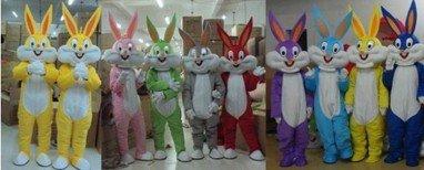 Bugs Bunny Cartoon Costume Cartoon Doll Clothing Doll Clothing 7 Colors Bugs Bunny Mascot Costume