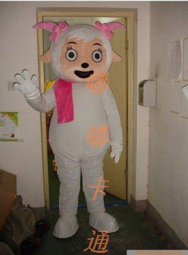Cartoon Costumes Walking Cartoon Doll Cartoon Doll Clothing Cartoon Costumes Beautiful Sheep Mascot Costume
