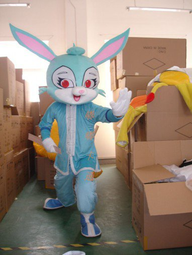 Cartoon Costumes Walking Cartoon Doll Clothing Cartoon Costumes Cartoon Rabbit Dolls Mascot Costume