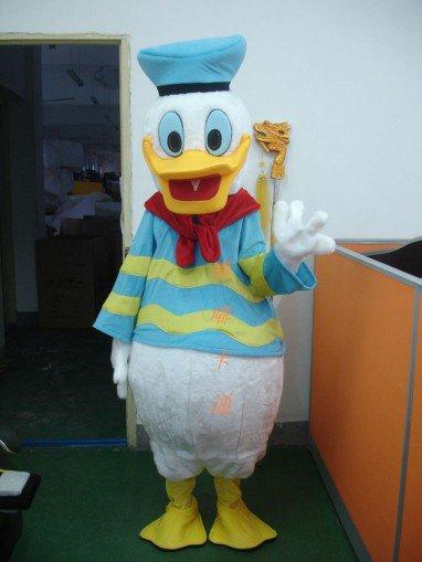 Cartoon Costumes Walking Cartoon Doll Clothing Donald Duck Cartoon Costumes Mascot Costume