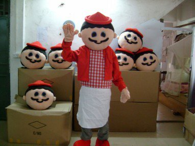 Character Costume Cartoon Doll Clothing Cartoon Clothing Cartoon Clothing Chef Mascot Costume
