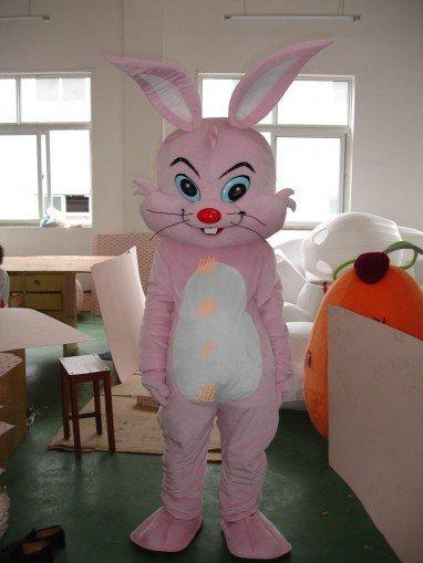 Walking Cartoon Doll Clothing Cartoon Show Clothing Cartoon Children Cartoon Clothing Pink Rabbit Mascot Costume
