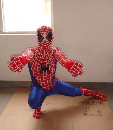 Cartoon Costumes Walking Cartoon Doll Cartoon Doll Clothing Cartoon Costumes Spiderman Mascot Costume