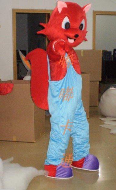 Cartoon Costumes Walking Cartoon Doll Clothing Doll Cartoon Fox Cartoon Costumes Mascot Costume