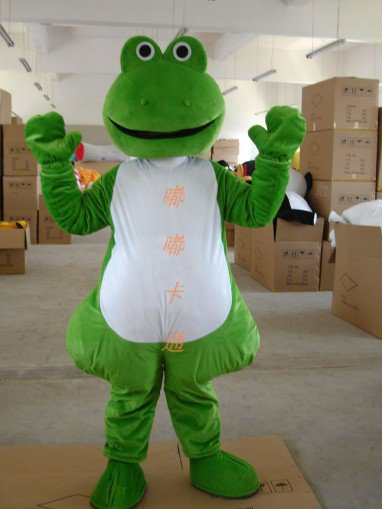 Manufacturers Sold Clothing Walking Cartoon Doll Clothing Cartoon Costumes Cartoon Doll Cartoon Frog Mascot Costume