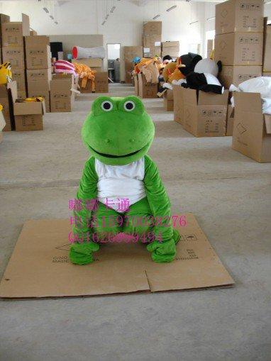 Walking Cartoon Doll Clothing Cartoon Movie Cartoon Frog Costume Mascot Costume